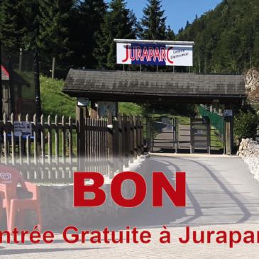 Entrée gratuite à Juraparc le 19 septembre